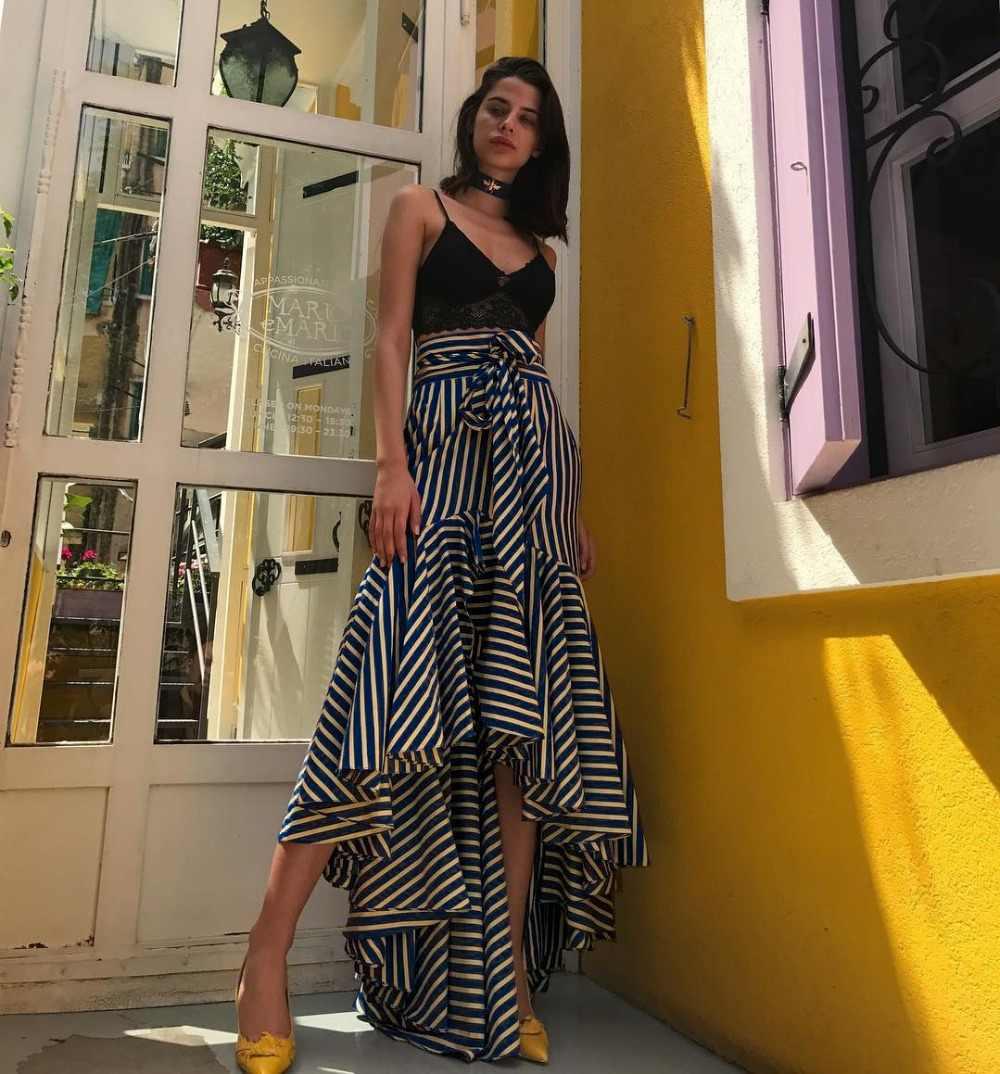 Faldas Mujer Tutu Faldas rzucili Saia Midi damska darmowa wysyłka 2019 spódnice w stylu pasek sukienka z rybim ogonem torba Hip bawełna kobiety