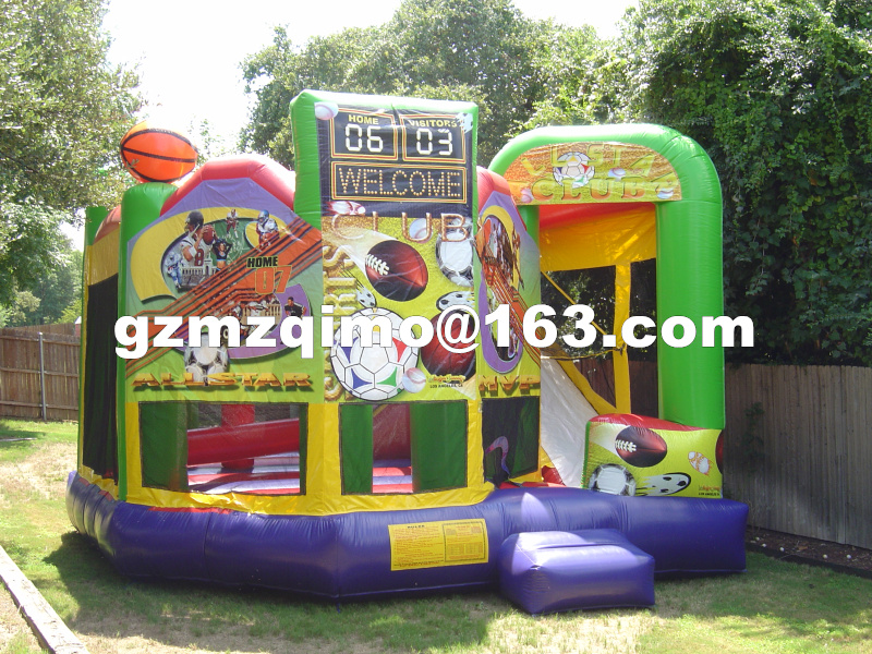 FREE BY SEA Home Used Inflatable Jumping Castles For Kid Bounce House Inflatable Bouncer Bouncy Castle Slide Combo With Blower шапочка для плавания novus npc 30 полиэстер синяя