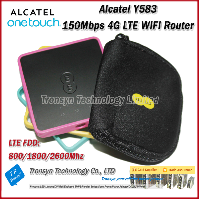 Original Unlock Alcatel Y853 100Mbps 4G Router With Sim Card Slot And 4G LTE Mobile WiFi Hotspot цена