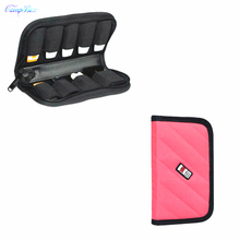 1Pcs Pink 17*9cm Storage Bag For Cable Wires Of Telephone,Digicam,Laborious Disk,U-Disk