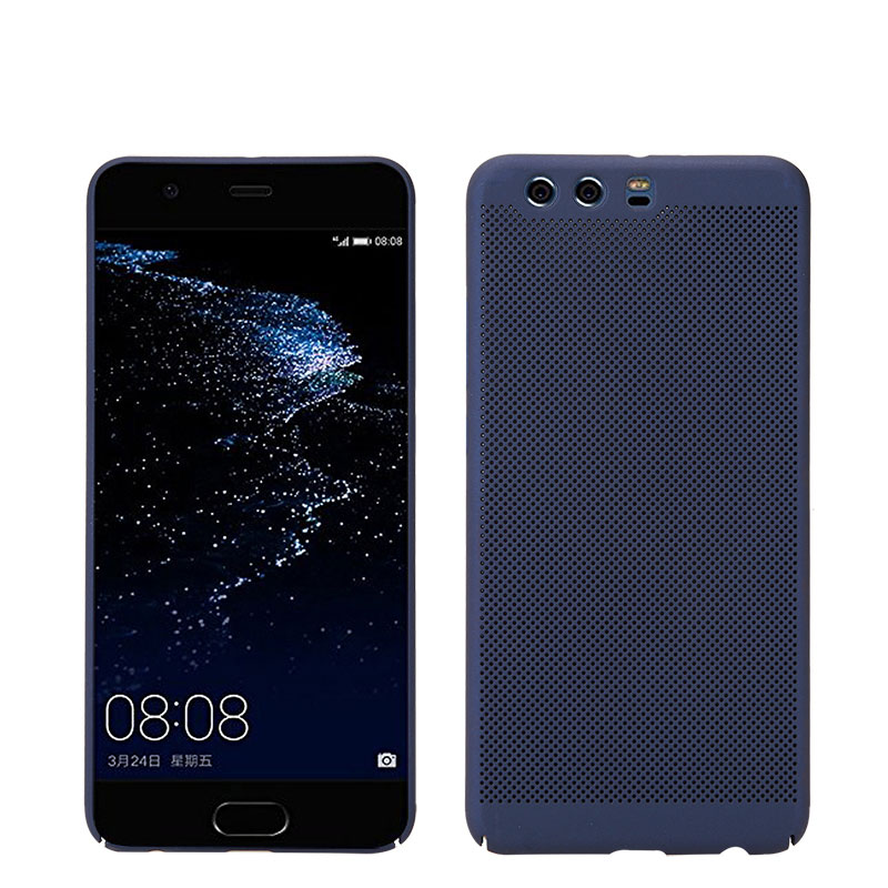 KSQ For Huawei P10 case hard plastic cover for Huawei P10 lite coque phone fundas for Huawei P10 plus Radiating Hol back case