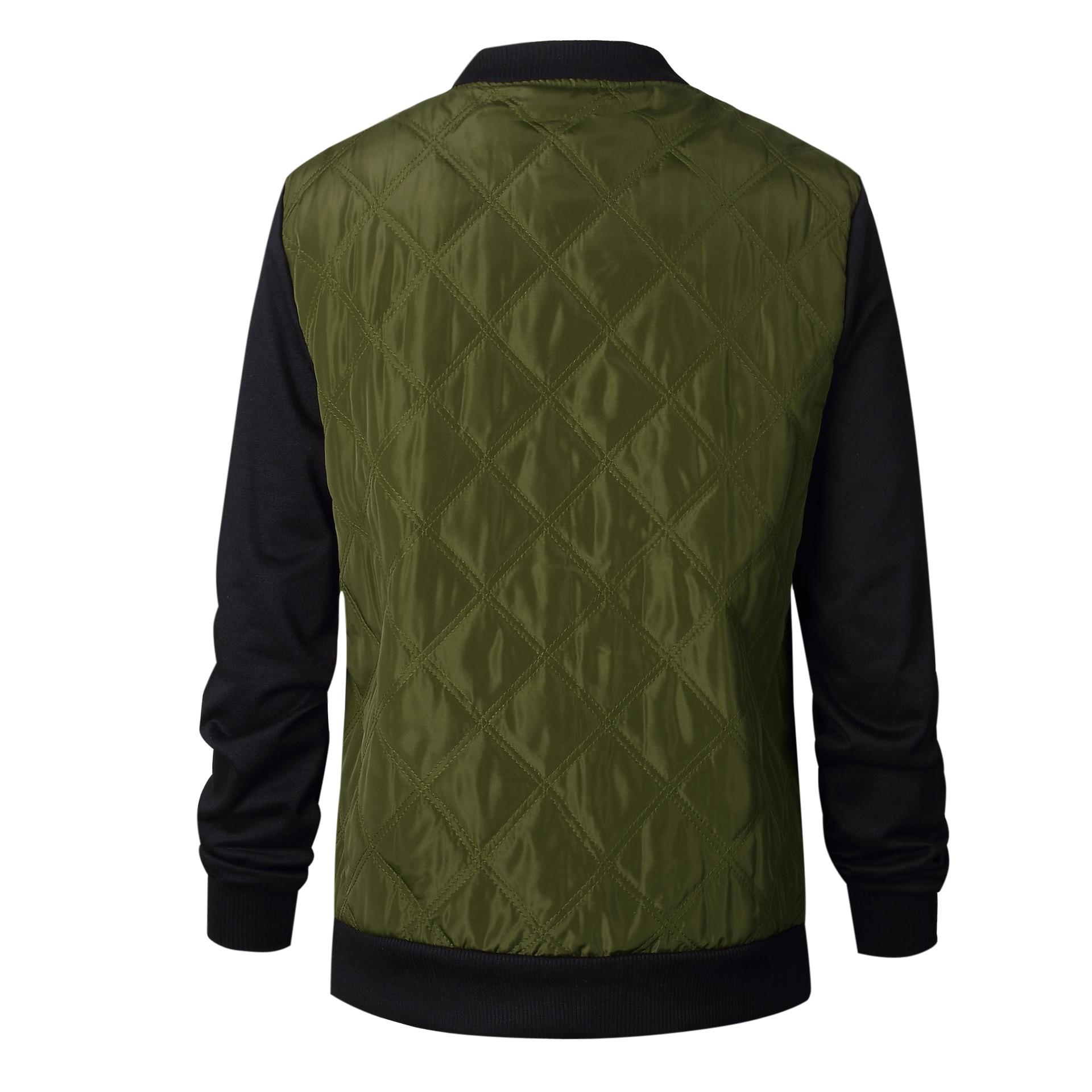HTB1Acv7FeuSBuNjy1Xcq6AYjFXad Plus Size Autumn Winter Fashion Slim Women's Jacket Zipper Cardigan Splice Bomber Jackets 2019 Long Sleeve Bodycon Coats Female