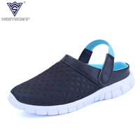 2016 New Summer Styles Shoes Men Loafers Male Beach Walking Shoes Outdoor Casual Channel Shoes Men