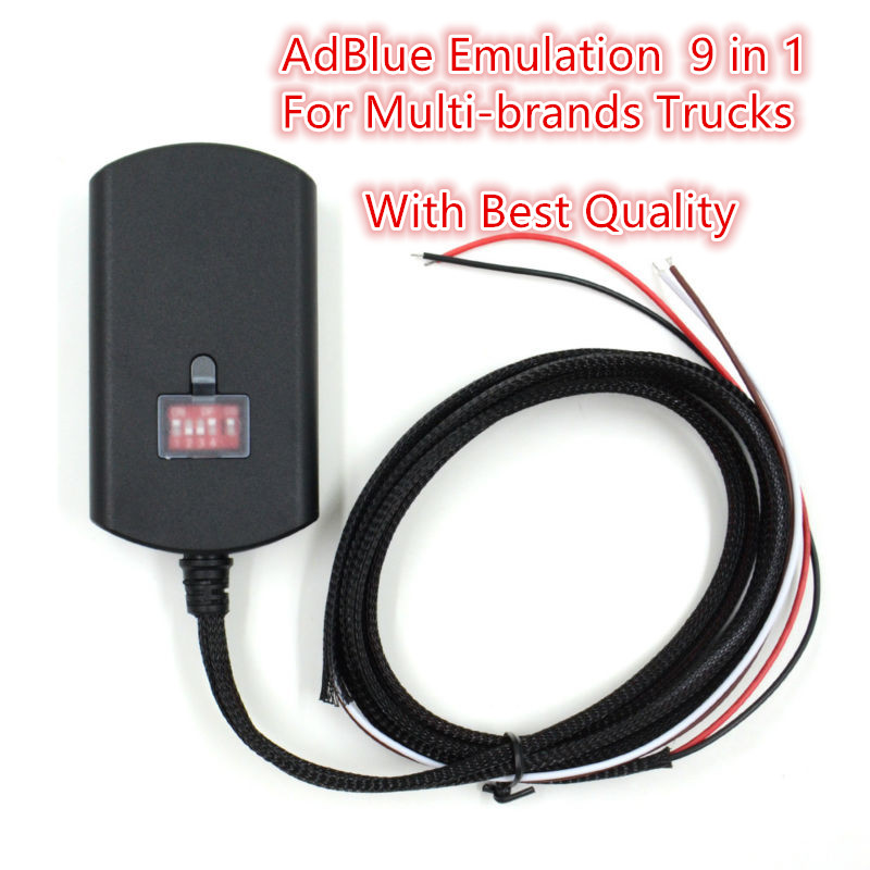 10 pcs Newest Car Styling Adblue 9in1 Adblue Emulator 9 in 1 Add for Commins Truck