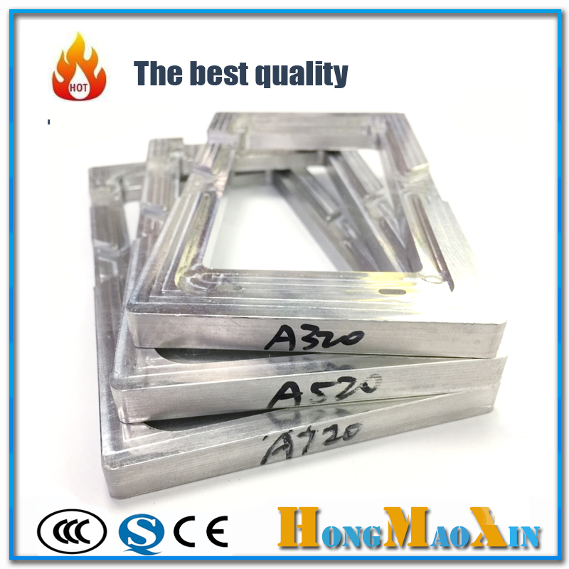 LCD Outer Glass Position Alignment Mold Holder For Samsung Galaxy A310F A720 A520 UV Glue Aluminum Metal Align Mold