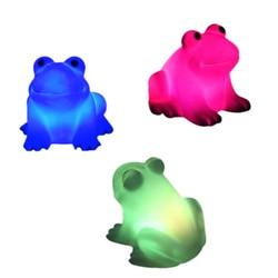 Veilleuse à couleurs changeantes en forme de grenouille, design magique, luminaire à couleurs changeantes, modèle LED, TSH Shop