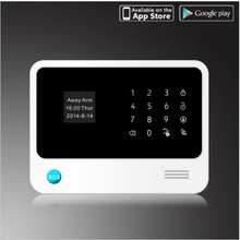 Wi-fi GSM Alarm System For Residence safety System with PIR/Door Sensor  work with IP digicam