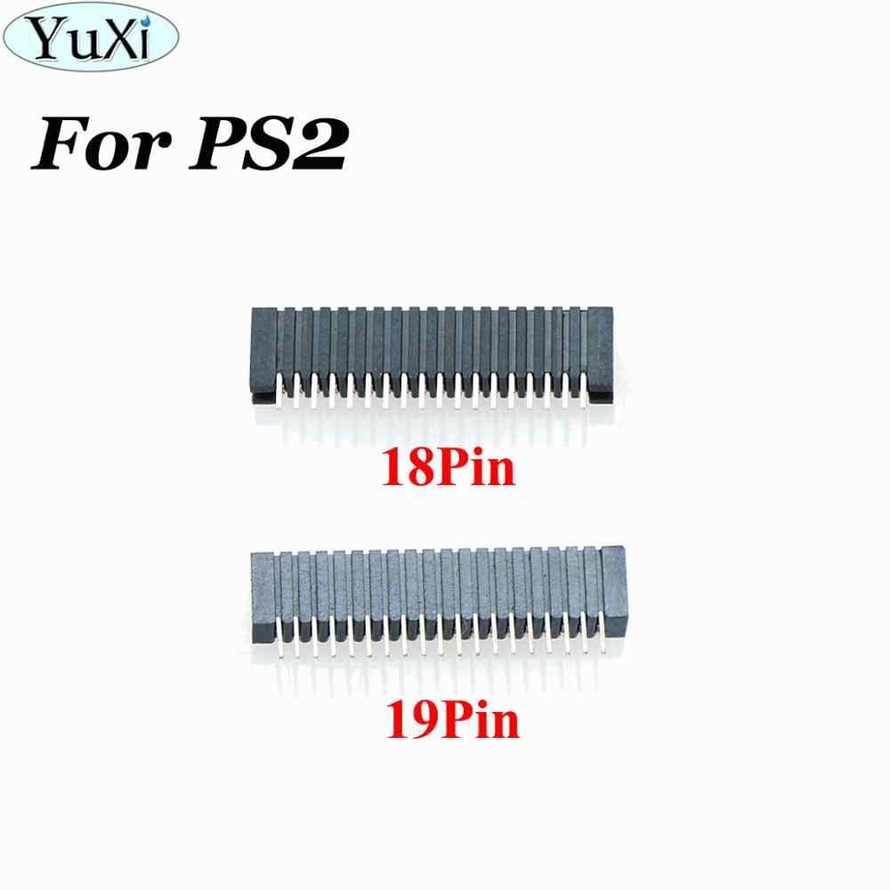YuXi 18/19 Pin Conductive Film ปุ่มฟิล์มซ็อกเก็ตสำหรับ PS2 19 P 18 p Conductive Film พอร์ตสำหรับ sony Playstation 2