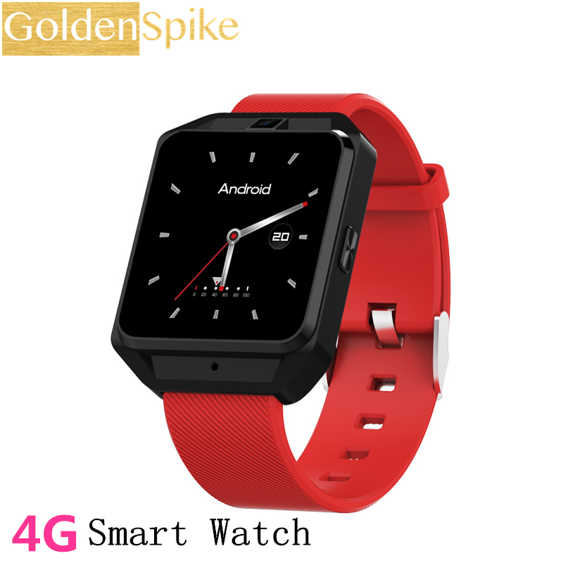 2018 New M5 Smart Watch GPS 4G Smartwatch Android 6.0 Watch Phone Sports Tracker Heart Rate Monitor support SIM Wifi Wristwatch