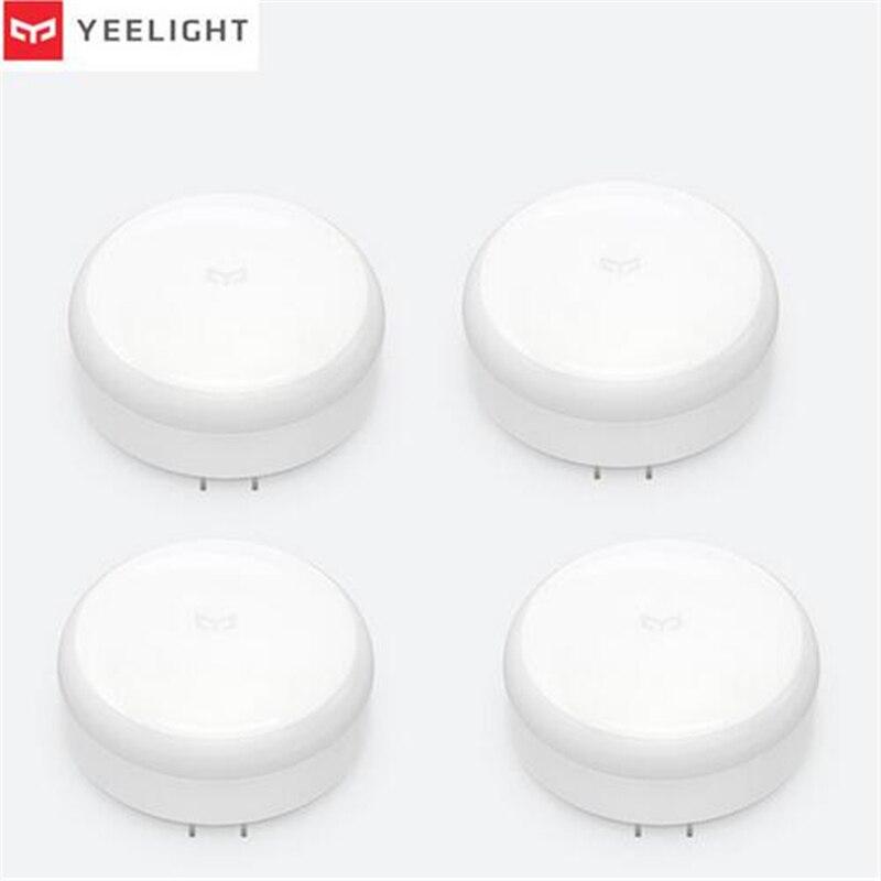 Bundled Sale Xiaomi Mijia Yeelight Induction Night Light (plug-in Version) YLYD03YL Led Lamp Bed Lights For Bedroom Corridor Wal