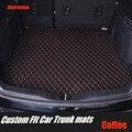 Коврики для багажника ZHAOYANHUA  коврики для Nissan Qashgai J10 J11 Rouge X-trail  все погодные 5D автомобильные коврики для укладки ковров  напольные вкладыши (...