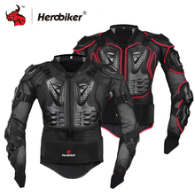 HEROBIKER chaqueta de la motocicleta Motocross equipo de protección de armadura cuerpo pecho Motor jinete de carreras chaqueta de la motocicleta de protección