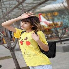 Kawaii Pokemon Pikachu Short Sleeve Women T Shirt