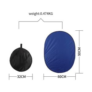 Image 3 - 24 pouces x 35 pouces (60cm x 90cm) photographie réflecteur ovale pliable Photo vidéo 7 en 1 réflecteurs de lumière disque