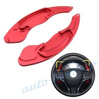 Red Car DSG Gear Shift Steering Wheel Paddle Trim Fit For Honda Spirior Odyssey Accord Acura Accessories