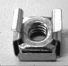 Cage nut M6 , Use in a square hole , Or in guide rail ,Cage is stainless steel,  nut is carbon steel, in stock, made in China,