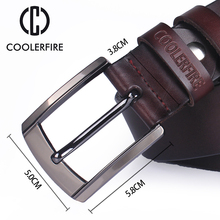 Men's High Quality Genuine Leather Black / Coffee Belt