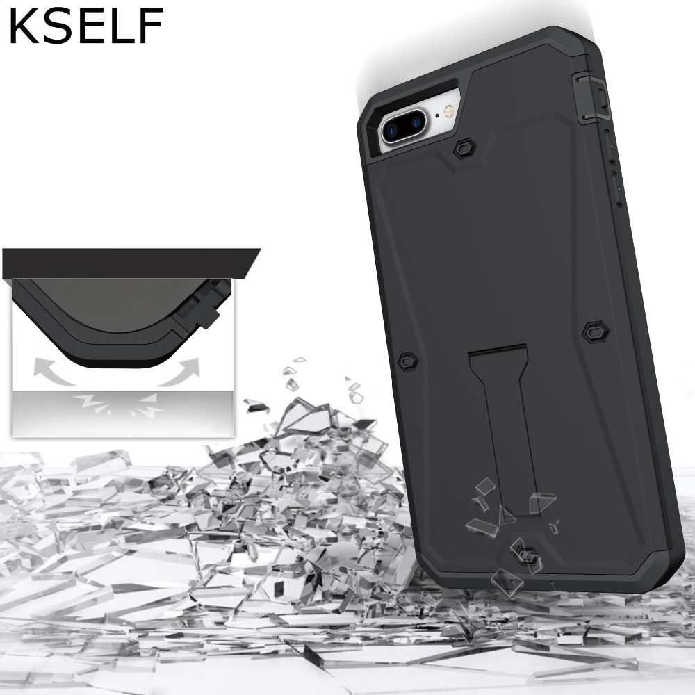 KSELF Full Protective Case For Apple iPhone 7 Case 8 Plus