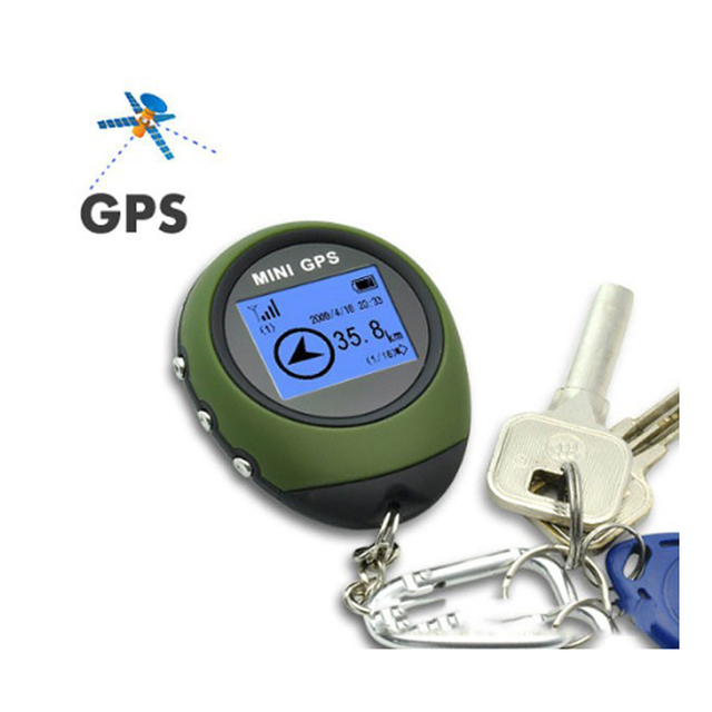 Podofo Mini Handheld GPS Navigation Receiver Location Finder Electronic Compass 2