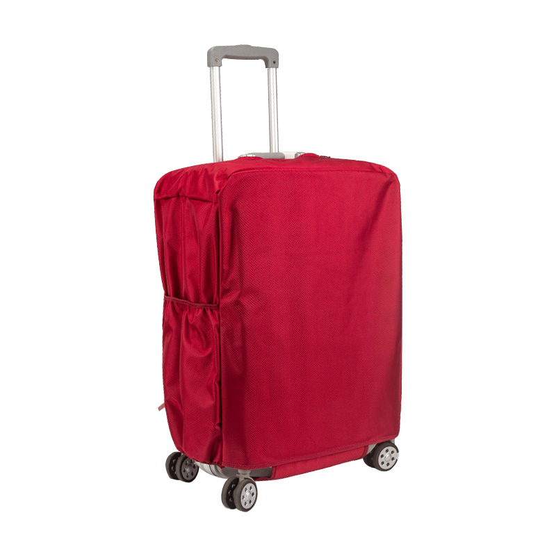 Thicken Oxford Luggage Cover Washable Suitcase Protective Covers Scratch Free Suitcase Cover Portable Flight Travel Accessories