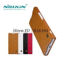 NILLKIN СПС Sony Xperia XA1 случай Цинь серии искусственная кожа флип чехол для Sony Xperia XA1 5.0 дюймов