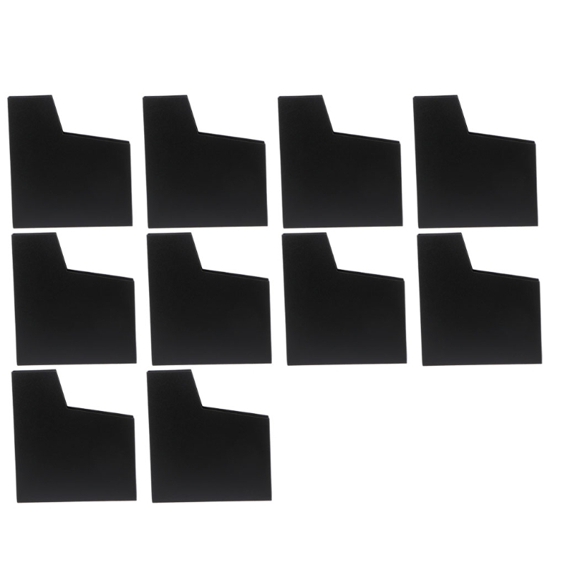 OOTDTY 10Pcs/Set Matte Cover Dust Case Game Cartridge Protector Sleeve For Nintendo NES