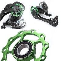 11T Fahrrad Aluminium MTB Alloy Lager Jockey Rad Schaltwerk Riemenscheiben 4 Farben 'xian-in Fahrrad-Umwerfer aus Sport und Unterhaltung bei