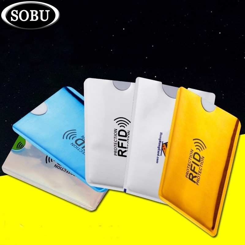 1PC Anti Rfid Credit Card Holder Bank Id Card Bag Cover Holder Identity Protector Case Portable Business Cards Card holder H1181PC Anti Rfid Credit Card Holder Bank Id Card Bag Cover Holder Identity Protector Case Portable Business Cards Card holder H118