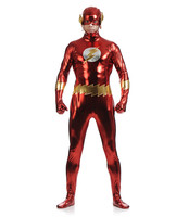 High quality 2017 New Superhero Costumes The Flash Cosplay Zentai For Adult 3D Printed Elasticity Stage Play Unisex Clothing Set