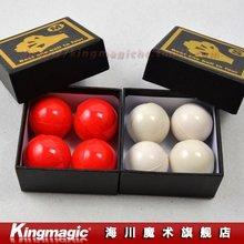 Наиболее подходящий вариант мяч до четырех белое или красное мягкие резиновые умножающиеся шары фокусы, волшебные комплекты магические капли