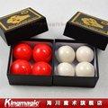 Mejor bola de cuatro blanco o rojo de goma Suave Multiplicando Balls trucos de magia, juegos de magia magia apoyos Envío libre