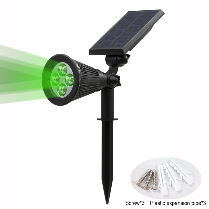 T SUN In Ground IP65 Solar Powered Spotlight with 4 to7 LEDs and Rechargeable Lithium Battery 46