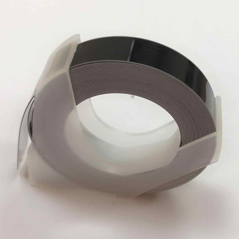 Image 4 - 5 PCS Manual Label Machine Ribbon 9mm DIY Office Gifts With Viscose Ribbon DIY printer label paper-in Printer Parts from Computer & Office