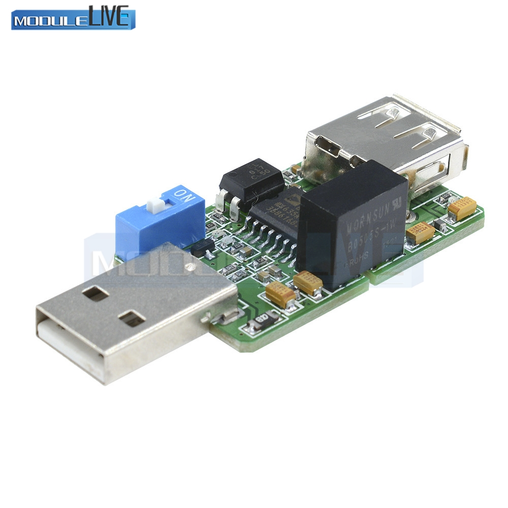 New USB Isolator 1500V Isolator ADUM4160 USB To USB ADUM4160/ADUM3160 Module usb isolation anti interference usb hub adum4160