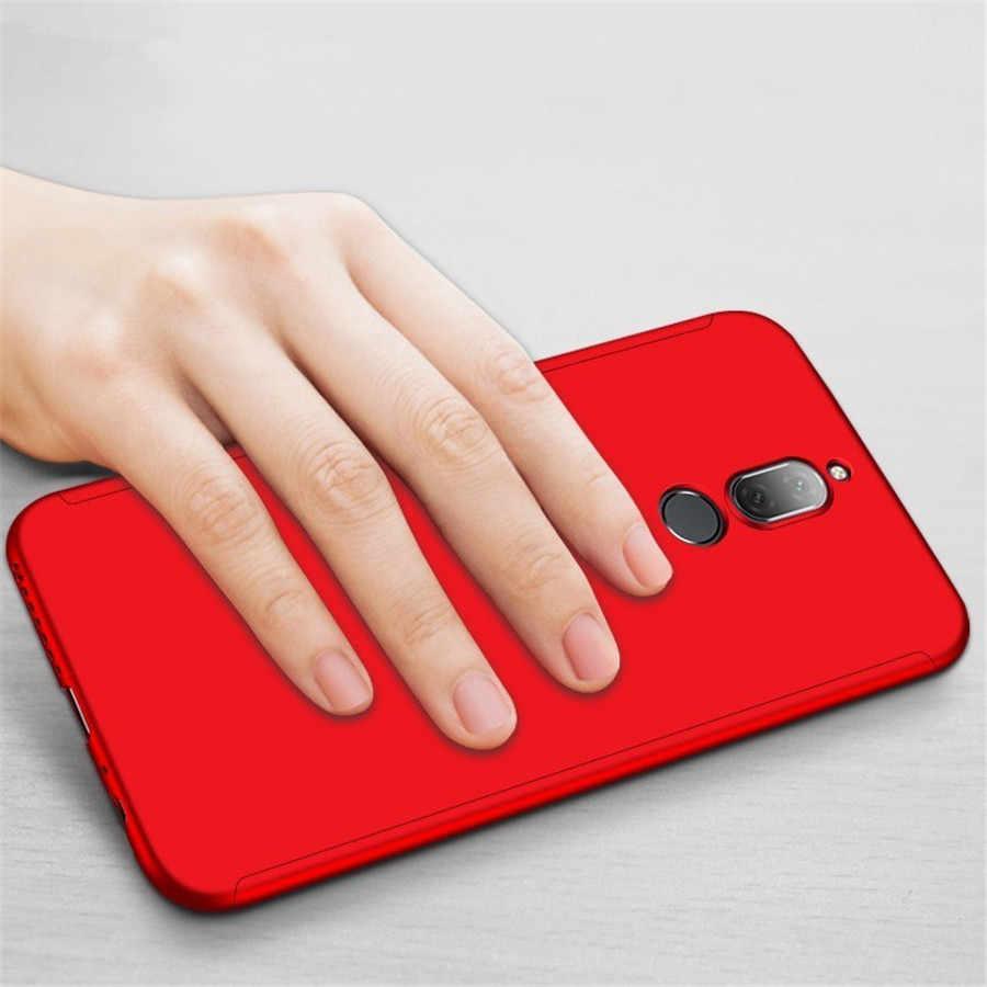 Per Huawei P20 Lite Pro, Causa 360 P8 P9 P10 Lite Plus Honor 8 9 V9 10 6X 7X Nova 2 2 S Più Mate 9 10 Caso Della Copertura In Vetro Temperato