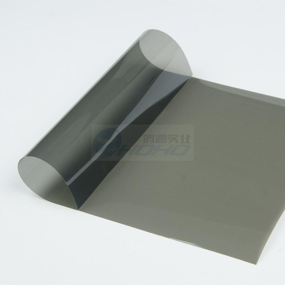 Insulate Car Windows: 1.52x5m Dark Gray UV Insulation Car Window Tint Film VLT
