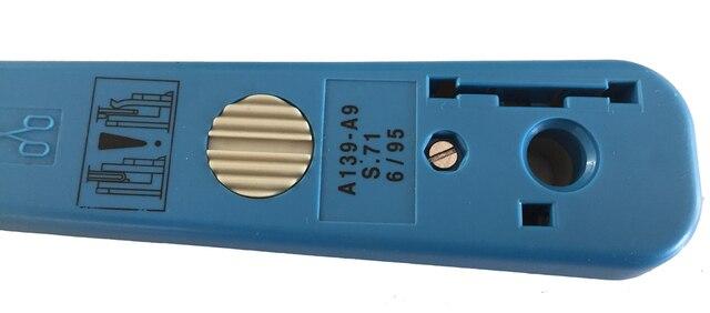 Outil dinsertion de LS-3142 pour le fil de bornier de télécom dimpact outil de réseau de poinçon dimpact de siemens