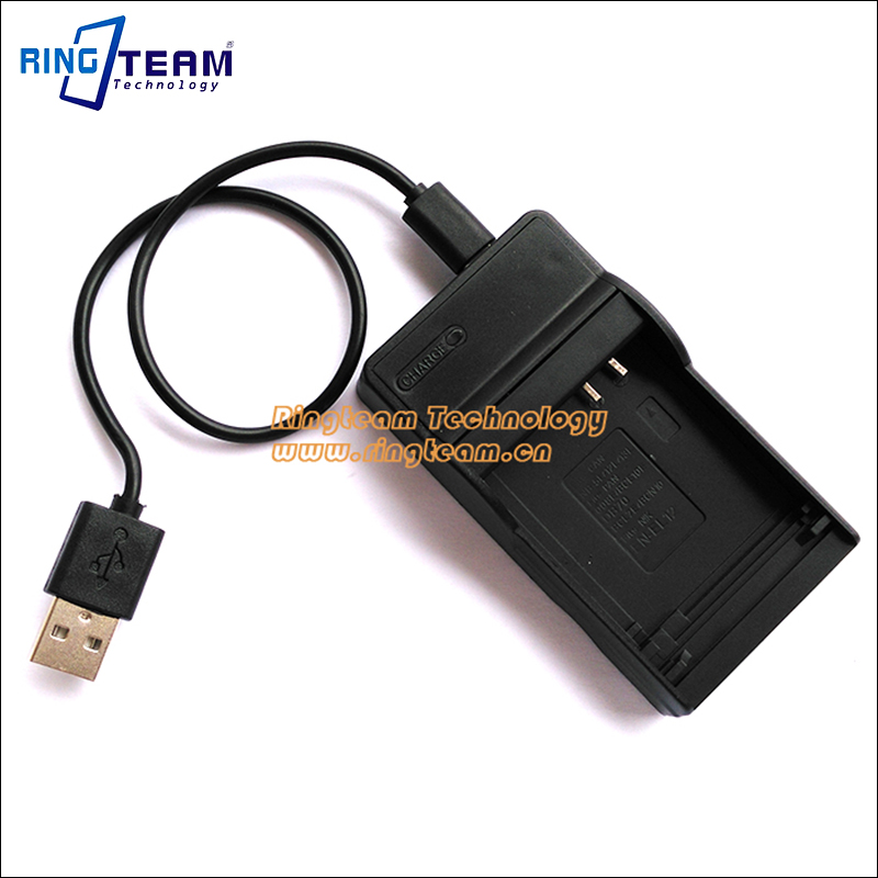 DMW-BCL7 BCL7E Battery USB Charger DMW-BTC11 DMWBTC11 for Lumix DMC-F5 FH10 FS50 SZ10 SZ9 SZ8 SZ3 XS1 and XS3 Cameras