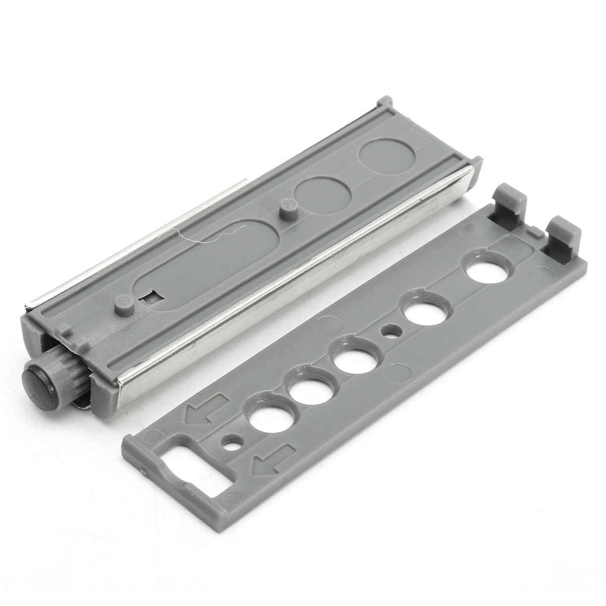 10Pcs Door Stopper Cabinet Catches Push to Open System Touchs Damper Buffer Soft Quiet Closer Furniture Hardware