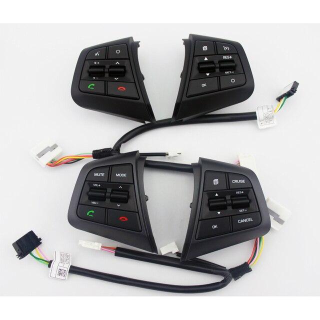 fce716f7de Botões no Volante Para Hyundai ix25 (creta) 2.0L Botões de Controle De  Cruzeiro