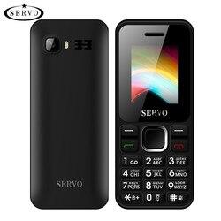 Original phone SERVO V8210 Dual SIM Cards 1.77 inch GPRS Vibration FM Bluetooth Low Radiation Cell phones with Russian keyboard