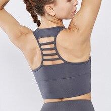 Yoga Bra Sportswear Sports Underwear Running Sports Bra Top Padded Training Sport Top Fitness Jogger Women Fitness Gym Bra стоимость