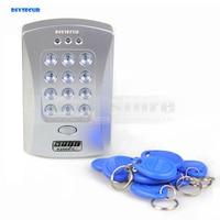 DIYSECUR 125 KHz Deur RFID Toetsenbord Proximity Reader Access Controller System Kit 10 Gratis Sleutelaanhangers Gloednieuwe V2000-C