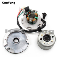 LF Lifan 150cc 8 coil Stator and Magneto Housing for Horizontal Motor Racing Rotor Dirt pit monkey Bike 140