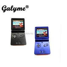 Console de jogos retrô multicolorido, venda quente de console de jogos retro fit gameboyadvance sp, handheld, retroiluminado AGS-101 boy advance sp bolso de bolso