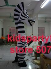 Sommer heißer verkauf!! Neue Erwachsene zebra mit anzüge schuhe hände maskottchen kostüm-fantasie-partei kleid Halloween kostüm
