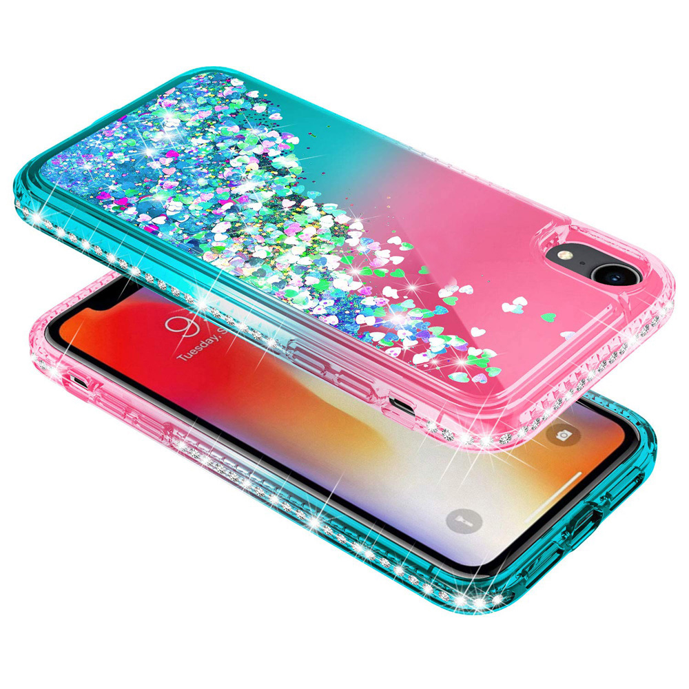 For Huawei P20 P20 Lite P20 Pro P30 P30 Pro Case Bling Sequin Glitter Diamond Hard Clear Back Cover Mate 20 Pro in Fitted Cases from Cellphones Telecommunications