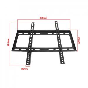 Image 2 - Universal 45KG 26 63 Inch Fixed  type TV Wall Mount Bracket Flat Panel TV Frame with Level for LCD LED Monitor Flat Panel