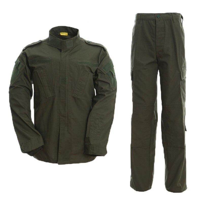 Esercito Di Fan Outdoor Da Combattimento Formazione Uniforme Vestito Di Pantaloni Camicia Tattiche Campo Cs Tiro Militare Tattica Di Camuffamento Vestiti Negozio Online