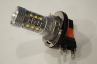 Free Shpping 2pcs Lots White 80W H15 LED Fog Light Bulbs For Auto LED Daytime Running